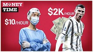 Why do footballers earn so much money? | Money Time