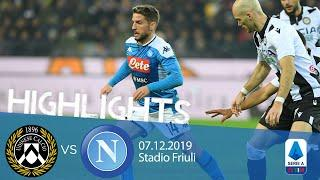 Highlights Serie A - Udinese vs Napoli 1-1
