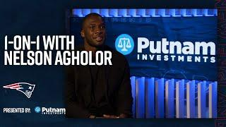 Nelson Agholor: The Patriots 'had a plan in free agency' | 1-on-1 (New England Patriots)