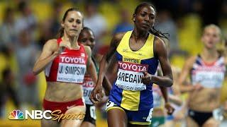 Jenny Simpson's 1500m world title defense comes down to final steps in 2013 | NBC Sports