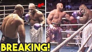 *WOW* MIKE TYSON KNOCKED OUT BY ROY JONES JR DOUBLE *2020 EXHIBITION FIGHT UPSET*