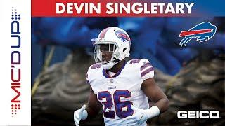 Devin Singletary Mic'd Up For First Game of 2020 Season | Buffalo Bills