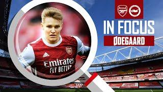 Martin Odegaard | Every Touch | Arsenal vs Brighton (2-0) | Compilation