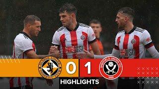 Dundee United 0 - 1 Sheffield United   Match Highlights   Sharp Goal & Match abandoned at Half Time.