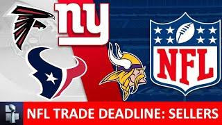 NFL Trade Deadline: Top 5 NFL Teams Who Should Be Sellers In 2020 Ft. Giants, Jets, Texans & Falcons
