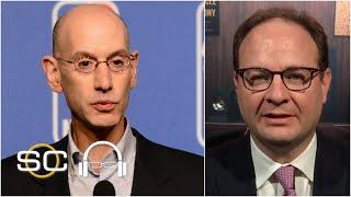 Woj details guidelines and hurdles for NBA's planned return | SC with SVP