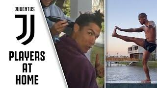 Ronaldo's Haircut, Dybala's Home Workout & Costa's Pet Playtime   #StayHome with Juventus   Part One