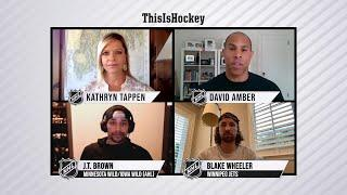 Hockey at Home:  Episode 10 Extended | J.T. Brown and Blake Wheeler discuss racial justice