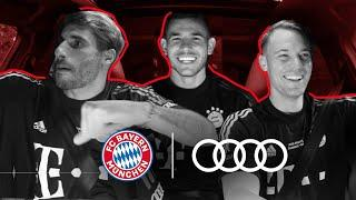 """""""I have 300 pairs of sneakers""""   Neuer, Martínez & Hernández Carpool Q&A   Audi X FC Bayern"""
