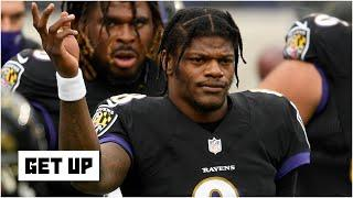 How Lamar Jackson's positive COVID-19 test is impacting the Ravens vs. Steelers matchup | Get Up