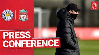 Jürgen Klopp's pre-match press conference | Leicester City