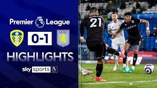 El Ghazi scores early after flawless first touch | Leeds 0-1 Aston Villa | Premier League Highlights