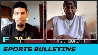Stephen A. Smith GRILLS Lakers' Danny Green On How Players Will Manage Having S*X In NBA Bubble