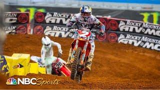 Supercross Round 12 at Arlington | EXTENDED HIGHLIGHTS | 3/21/21 | Motorsports on NBC