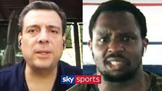 Dillian Whyte reacts angrily to WBC President after explaining his mandatory position