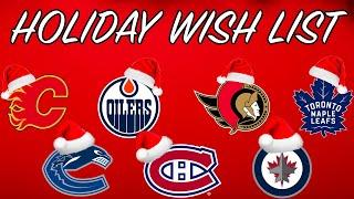 What Should Each Canadian Team Wish For This Holiday Season? w/ Steve Dangle