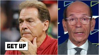 College football came to a screeching halt- Finebaum on Nick Saban's positive COVID-19 test | Get Up