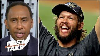 We'll never look at Clayton Kershaw the same again - Stephen A. Smith | First Take