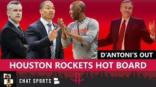 Houston Rockets Rumors: Top 5 Candidates To Replace Mike D'Antoni As Rockets Head Coach