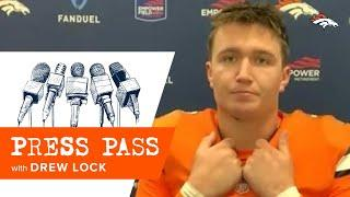 Drew Lock on Buffalo: 'They're a good team and they jumped on it'