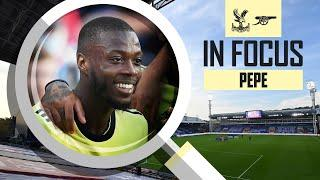 Nicolas Pepe   Every Touch   Crystal Palace vs Arsenal (1-3)   Compilation