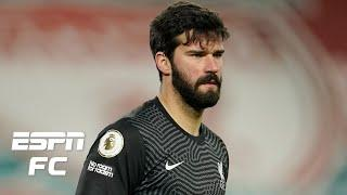 How does Alisson make the same mistake TWICE vs. Manchester City?   ESPN FC