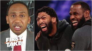 'We should be very, very worried about the Los Angeles Lakers' - Stephen A. | First Take