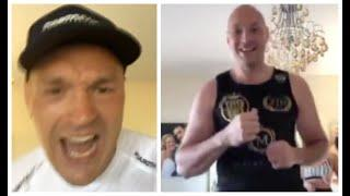 TYSON FURY'S BEST & MADDEST MOMENTS FROM LOCKDOWN WITH WIFE PARIS & THE KIDS / (COMPILATION VIDEO)