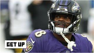 How can Lamar Jackson and the Ravens improve the team's offense? | Get Up