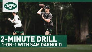 Sam Darnold's Expectations For 2020 Jets Offense   2-Minute Drill   New York Jets