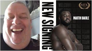 'WE GOT THE FEELING WE WERE WANTED' - BILLY NELSON ON MARTIN BAKOLE SIGNING ADVISORY WITH MTK GLOBAL
