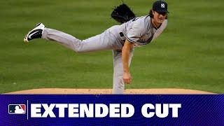 Yankees' big signing Gerrit Cole dominates during debut on Opening Day 2020!