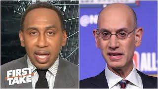 Stephen A. trusts Adam Silver to make the right call on the '19-20 NBA season | First Take