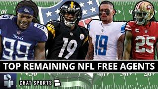 Top NFL Free Agents Available After Day 4 Of NFL Free Agency Ft. Kenny Golladay, JuJu Smith-Schuster