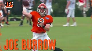 Joe Burrow Works Through Training Camp Drills | Cincinnati Bengals