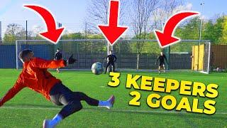 3 KEEPERS 2 GOALS! EPIC F2 SHOOTING BATTLE!