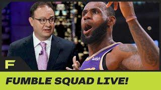 LeBron James, Other NBA Stars Show Support for Adrian Wojnarowski After ESPN Suspended NBA Reporter