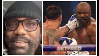 'USYK WAS RUNNING AWAY LIKE A MOTHERF*****' - DEREK CHISORA (THE MORNING AFTER) HIS UD LOSS TO USYK
