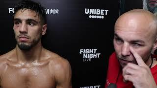 JORDAN FLYNN & KEVIN MITCHELL REACT TO DECISION WIN AT YORK HALL ON FRANK WARREN CARD / MOVES 2-0
