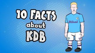 10 facts about Kevin De Bruyne you NEED to know!
