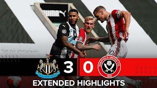 Newcastle United 3-0 Sheffield United | Extended Premier League highlights
