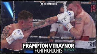 Carl Frampton v Darren Traynor fight highlights and knockout