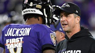 It's time for the Ravens to help Lamar Jackson - Ryan Clark | First Take