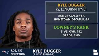 New England Patriots Select S Kyle Dugger With Pick #37 In 2nd Round of 2020 NFL Draft