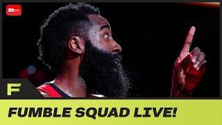 James Harden Graphic Shows How Truly BAD He Is At 3's + Fumble Interviews Mike Hill | Fumble Live!