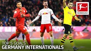 Top 5 Best Goals Germany Internationals 2019/20 - Gnabry, Can, Werner & More