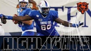 Lachavious Simmons College Highlights | Chicago Bears