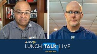Sean McDermott details how Bills are discussing social injustices | Lunch Talk Live | NBC Sports