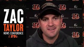"Zac Taylor: ""We continue to have the right mindset"" 