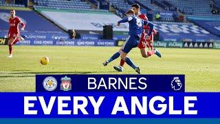 EVERY ANGLE | Harvey Barnes vs. Liverpool | 2020/21
